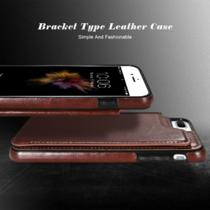 PEEPS™ Leather Flip Wallet iPhone Case