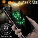 Peeps™ Luminous Marvel-DC Glass Case (iPhone)