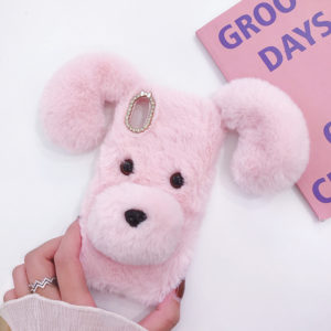 Warm Furry Phone Case For Sony Xperia